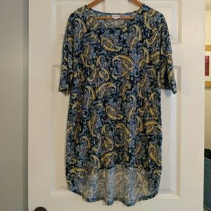 NWOT Lularoe irma high-low tunic